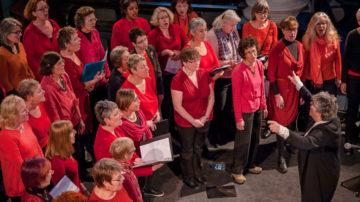 Women sing East
